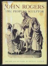 John Rogers The People's Sculptor David H Wallace 1967 1st facsimile dustwrapper