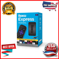 HD Streaming Media Player With High Speed HDMI Cable And Simple Remote Black