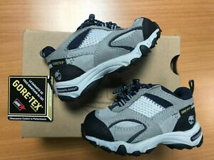 Timberland PTHSKR Pathskeeper Boys Toddler Lace Up Trainers Grey UK Size 4 K