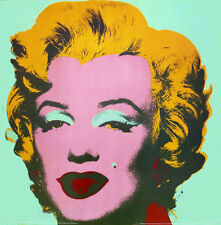 Andy WARHOL Marilyn Monroe Estate Authorized Litho Print  26 x 26