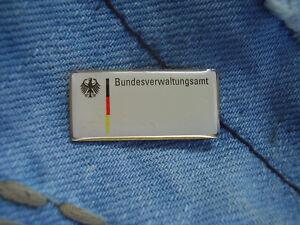 Pin Pins Bundesverwaltungsamt BVA Außenstelle Berlin-Lichtenberg Deutschland