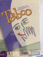 2009 TABOO The Game Of Unspeakable Fun By Parker Bros.~New & Factory Sealed!