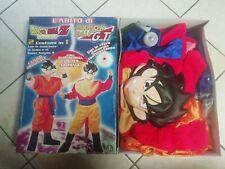 Costume di goku dragon ball z/gt con scatola originale anni 00 giochi preziosi