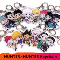 HUNTER x HUNTER Key Chains Two-sided Keychain Cosplay Acrylic Pendant Keyring