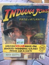 "Indiana Jones and the Fate of Atlantis 3.5"" PC Game1992 Original sealed MAC  New"