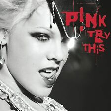 New listing PINK_TRY THIS _DOUBLE RED VINYL ALBUM