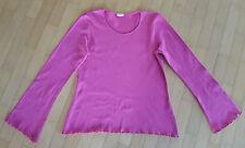 HESSNATUR - Langarm-Shirt Damen Gr. 34/36 fuchsia NEU