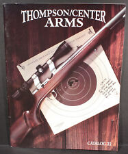 Thompson/Center Arms 1995 Catalog No.22. Contender Fire Scout Thunder Hawken