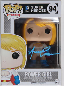DC POWER GIRL SIGNED FUNKO POP AMANDA CONNER & JIMMY PALMIOTTI