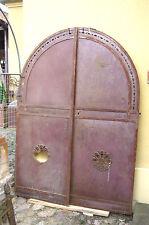 Oberlicht Barock Metalltüre Fenster Spiegel Türe Eisentüre Eisentor Windfang