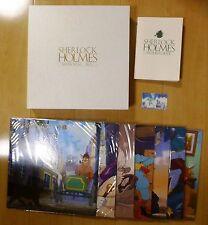 Sherlock Hound MEMORIAL BOX Japan Anime LD LaserDisc Hayao Miyazaki Holmes