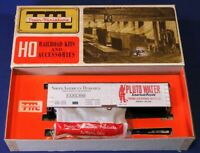 Train Miniature HO North American Despatch Pluto Water Wood Reefer Car Kit 8061