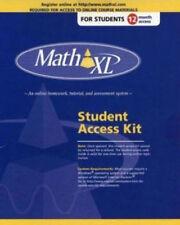 NEW MathXL Math XL Standalone Student Online Access Code 12-months (12 Months)