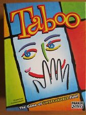 TABOO The Game Of Unspeakable Fun !