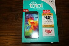 "NEW Total Wireless Samsung Galaxy S5 Android 4G LTE Smartphone 16GB 5.1"" HD"