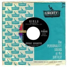 Johnny Burnette 1961 Liberty 45rpm Girls b/w I've Got A Lot Of Things To Do