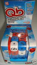 QB GAME WORD CUBE GAME AGE 8 TO ADULT BRAND NEW AND BOXED