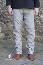 Medieval Thorsberghose Wool Trousers Viking /Larp - Grey By Burgschneider