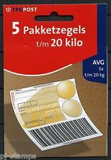 Hangboekje GD 32c - BB 79a-B 5 Pakketzegels 79a 20  kg emissie 2002