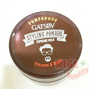 Gatsby Pompadour Styling Pomade Supreme Hold Volume and High 30gm.