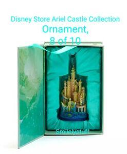 Genuine DISNEY Store ARIEL CASTLE Collection ORNAMENT, 8 of 10