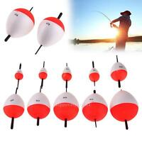 10pcs Sea Fishing Round Float Buoy Bobbers Set 2g-50g With Sticks Pesca Tackle