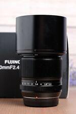Fuji Fujifilm XF 60mm f2.4 R Fujinon Macro ASPH Super EBC Lens X-Mount with UV