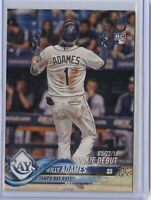 2018 Topps Update WILLY ADAMES Rookie Debut VINTAGE /99 - Tampa Bay Rays RC