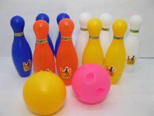 1Set Bowling Game Kits 10 Pins & 2 balls with Bag
