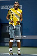 Rare 2007 US OPEN Nike Rafael Nadal Sphere Tennis Sleeveless Shirt RAFA MEDIUM