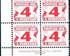 Canada Stamp PB- Postage Due #J31 - (1969) 4¢