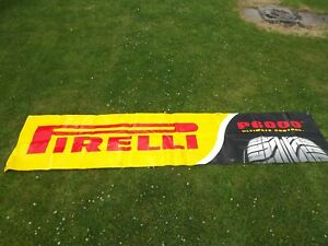 Original Pirelli Tyres P6000  BANNER for Workshop Garage Tyre Bay Advertising