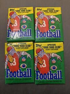 (4) 1986 Topps Football Packs