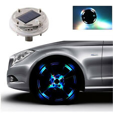 12 LED Car Auto Solar Energy Flash Wheel Tire Valve Caps Neon Light Lamp