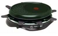 Tefal RE 5160 Simply Invents Raclette Grill 8 Pans 1050W Cherry Black