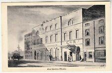 EAST LONDON THEATRE - 1826 - Old Print Series #24 - c1900s era postcard