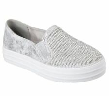 Scarpe da donna ballerine bianco Skechers