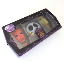 Nightmare Before Christmas Disney Ornamental Masks Lock Shock Barrel Ceramic 4""