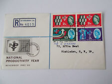 1962 NPY Illustrated First Day Cover with Colliers Wood Cds & Typed Add Cat £50