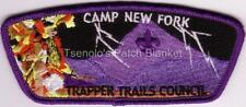 Trapper Trails Council SA-62:1 2006 Purple bdr Camp New Fork CSP Mint FREE SHIP