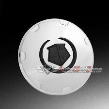 08-14 Cadillac Escalade Chrome Wheel Hub Center Cap Hubcap Cover Black Emblem