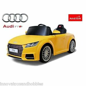 LICENSED AUDI TTS 12V 2 SPEEDS 2.4G RC KIDS ELECTRIC RIDE ON CAR TOY WHITE