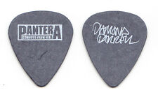 Pantera Dimebag Darrell Signature Gray Cowboys From Hell Guitar Pick - 1990