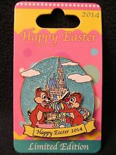 WDW ~ New HAPPY EASTER 2014 Chip + Dale Pin # 100481 ~ Limited Edition of 3000!