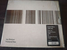 JOY DIVISION - Fractured Box 2X CD New Wave / Post Punk / Ltd Numbered #236