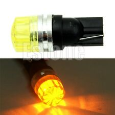 Amber T10 194 168 W5W 5050 SMD LED Car Auto Side Tail Turn Wedge Light Lamp Bulb