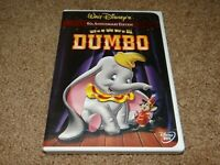 Disney's DUMBO (DVD, 2001, 60th Anniversary Edition) w/ Insert AUTHENTIC