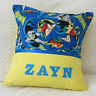 Batman and Robin Child's/Boys Personalised Name Character Cushion Cover / GIFT