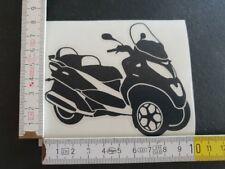 Piaggio mp3 2008-2014 Noir folienplot Autocollant Sticker