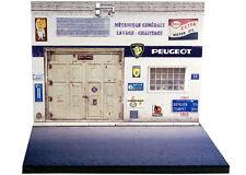 Diorama Présentoir Peugeot - 1/43ème - #43-2-a-a-004
